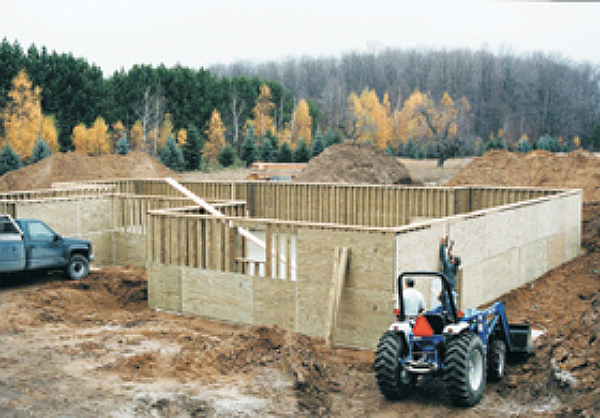 Permanent Wood Foundation