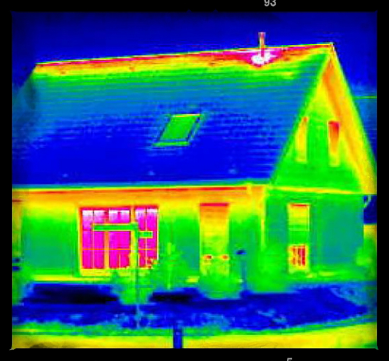 Thermal Imaging Home Energy Audit