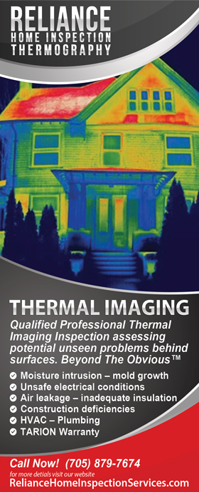 Reliance Home Inspection Services Thermal Imaging Services